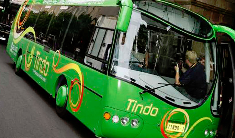 Could this be the Greenest Bus in the World? - Arrow Stage Lines