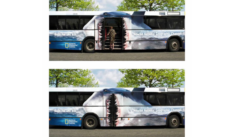 See These Incredible Adverts on Bus Decals from Around the World - Arrow Stage Lines