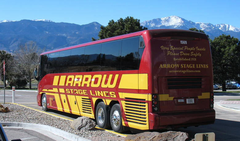 Variety is the Spice of Life: Buses, Motorcoaches & Trolleybuses...Oh My! - Arrow Stage Lines