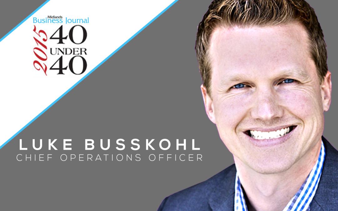 Luke Busskohl Honored Among Top 40