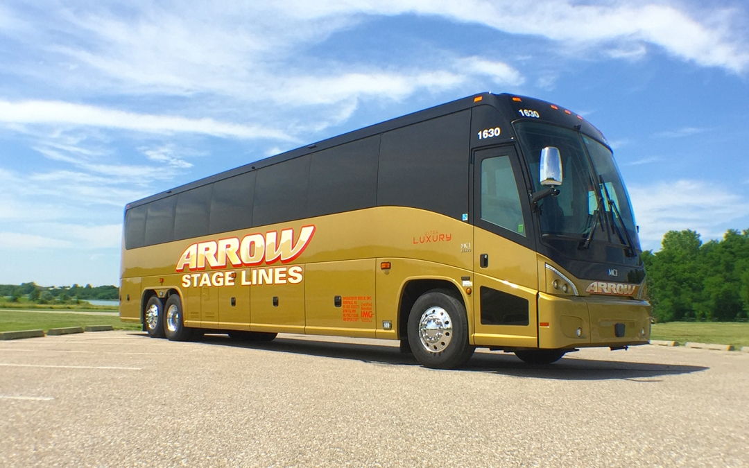 Arrow Innovates New Luxury Charter Bus