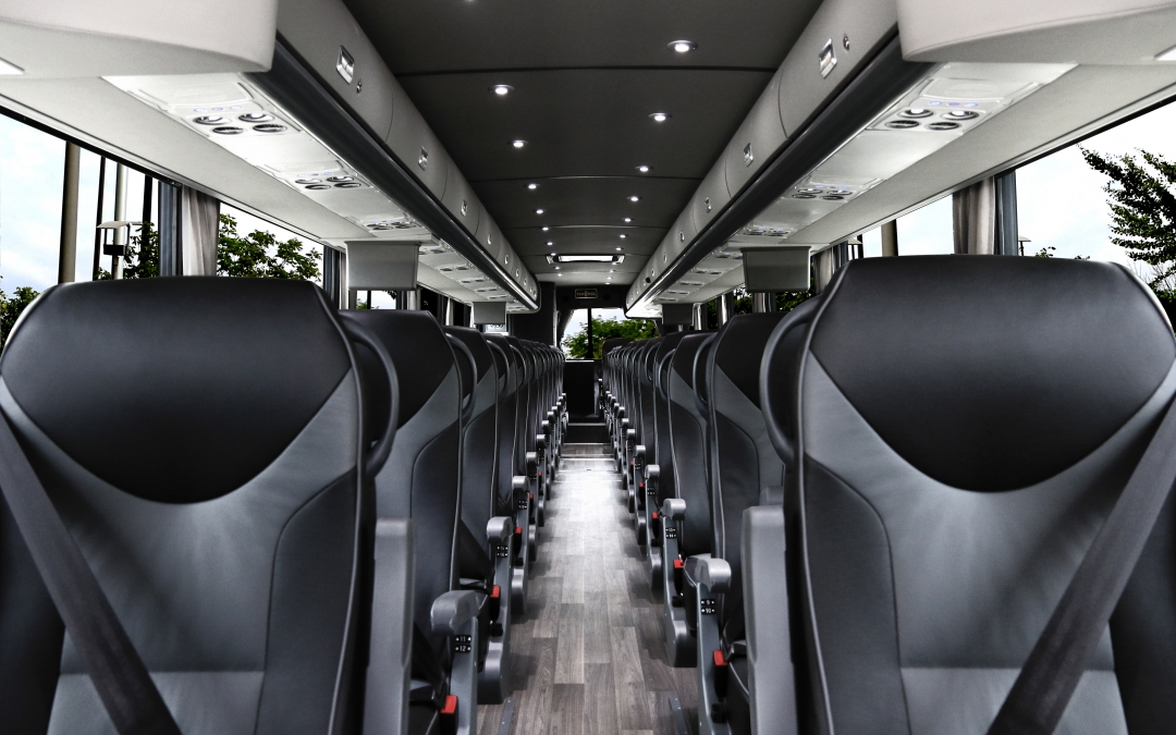 Interior Changes For A Unique Charter Bus Experience