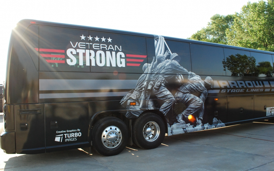 Proud To Support Veterans With Custom Motorcoach