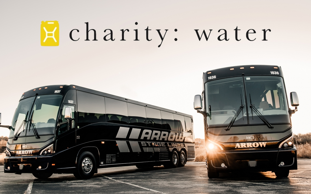 Arrow Stage Lines Early 2017 Contributions to Hero Project: Water Charity